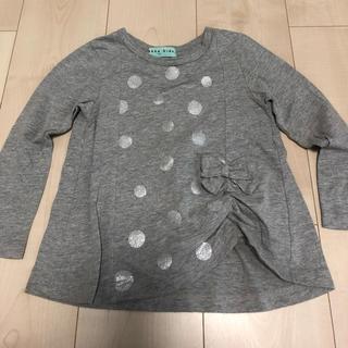 ハッカキッズ(hakka kids)の美品☆ハッカキッズロンT☆サイズ100(Tシャツ/カットソー)