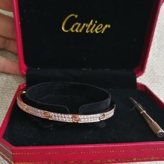 Cartier - 人気 Cartier バングル カルティエ ブレスレット ピンクゴールド19cm
