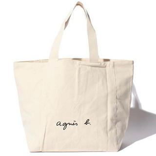 agnes b. - 【アニエス・ベー】トートバッグ アイボリー Lサイズ