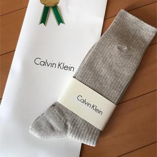 シーケーカルバンクライン(ck Calvin Klein)の新品未使用!カルバンクライン メンズソックス(ソックス)