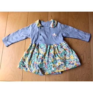 Combi mini - 【kids・キッズ 700】ロンパース ラップコンパクト コンビミニ 80 美品