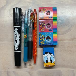 Disney - ディズニーボールペン、シャーペン、消しゴム
