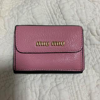 miumiu - 美品 miumiu ミニ財布 バイカラー