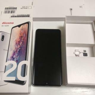 SAMSUNG - 新品未使用/利用制限○/ドコモシムフリーsc-02Mホワイト