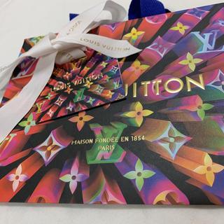 LOUIS VUITTON - LOUIS VUITTON ルイヴィトン ショップ袋+メッセージカード+リボン