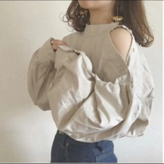 who's who Chico - node.  one shoulder button blouse