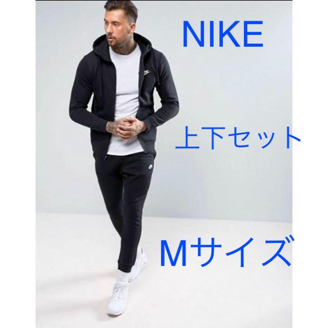 NIKE(ナイキ)の新品!送料込!NIKEセットアップ ブラック上下セット  Mサイズ‼︎ メンズのパンツ(その他)の商品写真