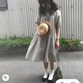 サマンサモスモス(SM2)のsamansamos2  チェックシャツワンピース(ひざ丈ワンピース)