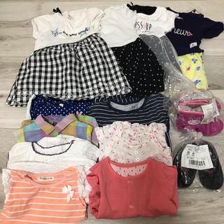 H&M - 11着と2足 セット まとめ売り 女の子 夏服 80 90