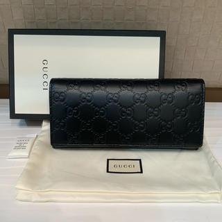 Gucci - 新品 未使用 本物 GUCCI グッチ GGレザーロングコインウォレット 長財布
