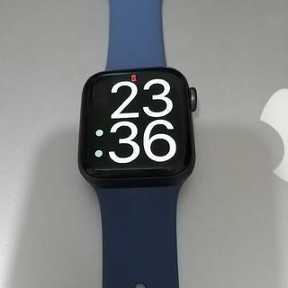 アップルウォッチ(Apple Watch)の美品!Apple Watch Series 5 GPS 40mm スペースグレイ(腕時計(デジタル))