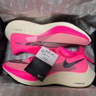 NIKE ZOOMX VAPORFLY NEXT% Pink 27cm(スニーカー)