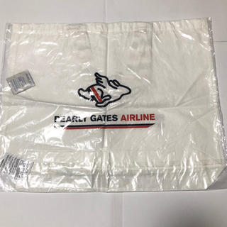 PEARLY GATES - パーリーゲイツ AIRLINEロゴトートバッグ