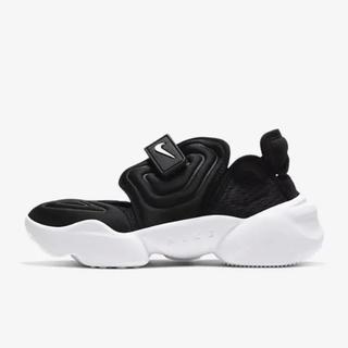NIKE - Nike アクアリフト 黒 24cm