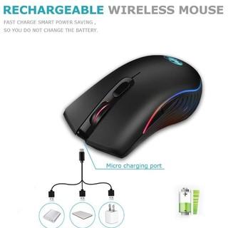 ワイヤレスマウス 無線マウス 超静音 薄型 高精度 USB充電式 省エネルギー