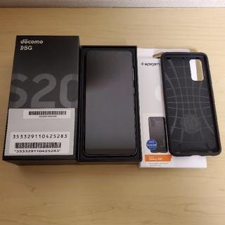 Galaxy - Docomo Galaxy S20 5G SC-51A Simフリー化済み