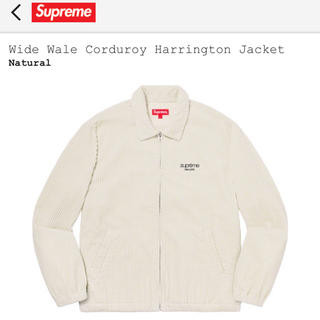 Supreme - Wide Wale Corduroy Harrington Jacket S