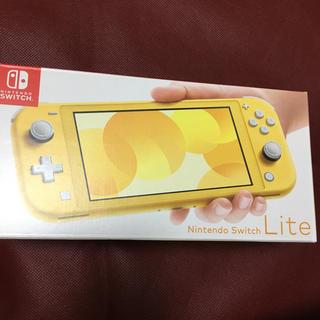 ニンテンドースイッチ(Nintendo Switch)のスイッチ ライト 新品未開封 イエロー(家庭用ゲーム機本体)