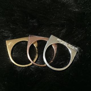 ミッシェルクラン(MICHEL KLEIN)のSALE♡MICHEL KLEN 3連指輪♡(リング(指輪))