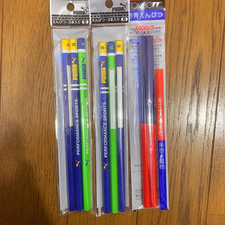 プーマ(PUMA)の鉛筆 赤青鉛筆 PUMA(鉛筆)