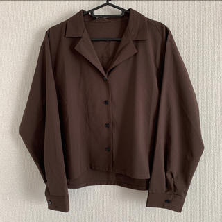 WEGO - 未使用 ブラウン シャツ