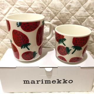 marimekko - マリメッコ マンシッカ マグカップ ラテマグ