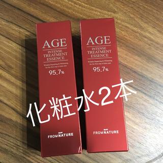AGE フロムネイチャー 化粧水2本