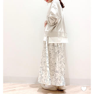 GLOBAL WORK - GLOBAL WORK  花柄 ロングスカート