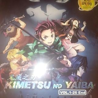 鬼滅の刃vol.1-26end   DVD