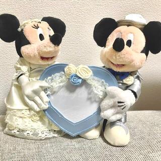 Disney - ディズニー ウェディングドール フォトフレーム ミッキー ミニー