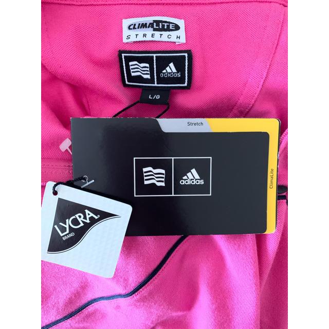 adidas(アディダス)のアディダス ゴルフウェア CLIMALITE メンズLサイズ スポーツ/アウトドアのゴルフ(ウエア)の商品写真