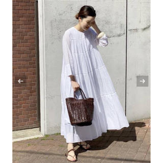 Plage - 新品タグ付き plage ヌキテパ SP TIERED ドレス