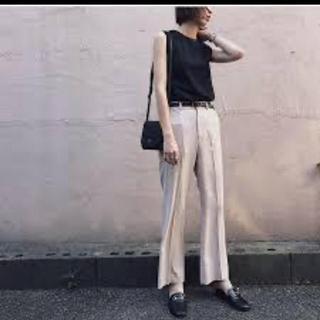 moussy - MOUSSY❤︎CENTER PRESS FLARE PANTS