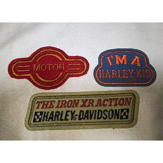 ハーレーダビッドソン(Harley Davidson)の【HARLEY-DAVIDSON】ハーレーダビッドソン ワッペン 3枚(その他)