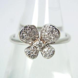 サマンサティアラ(Samantha Tiara)のサマンサティアラ K18WG ダイヤモンド リング 9.5号[g177-1](リング(指輪))