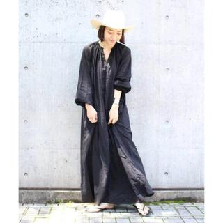 DEUXIEME CLASSE - ドゥーズィエムクラス PAN YORYU DRESS ワンピース ブラック