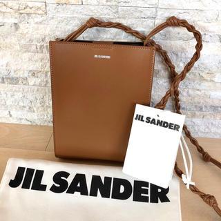 ジルサンダー(Jil Sander)の★新品タグ付★ ジルサンダー タングル スモール バッグ ブラウン(ショルダーバッグ)