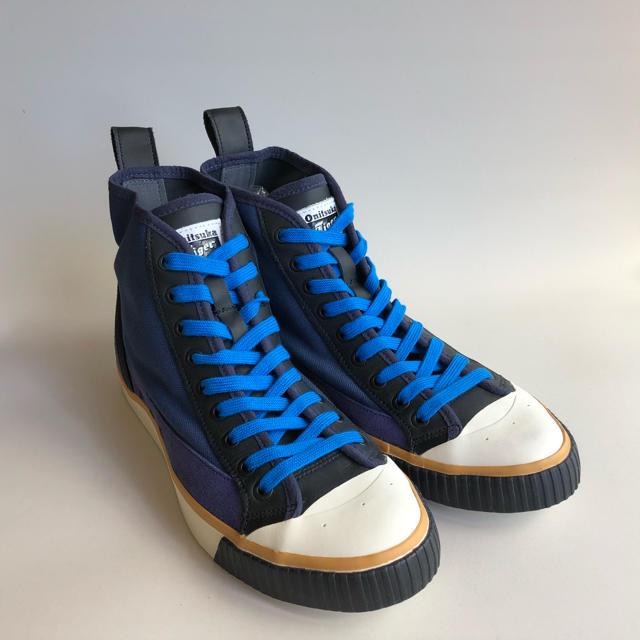 Onitsuka Tiger(オニツカタイガー)の☆新同27.5㎝オニツカタイガー×アンドレアポンピリオ バスケットボールC748 メンズの靴/シューズ(スニーカー)の商品写真