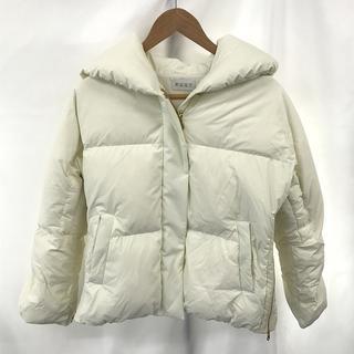 PLST - レディース ダウン ジャケット ナイロン サイズ S ショート 丈 大き目 襟