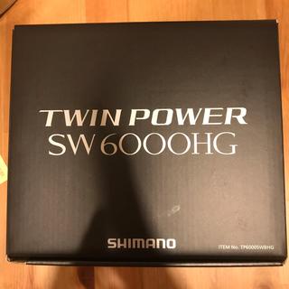 シマノ(SHIMANO)のツインパワーSW 6000HG(リール)