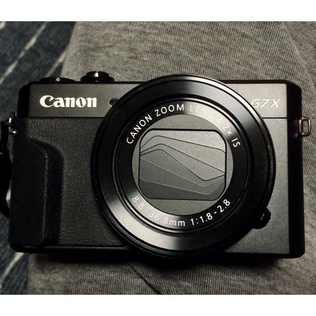 Canon(キヤノン)のPowerShot G7X Mark II スマホ/家電/カメラのカメラ(コンパクトデジタルカメラ)の商品写真