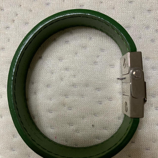 LOUIS VUITTON - ルイヴィトン クリップイットブレスレット 革製