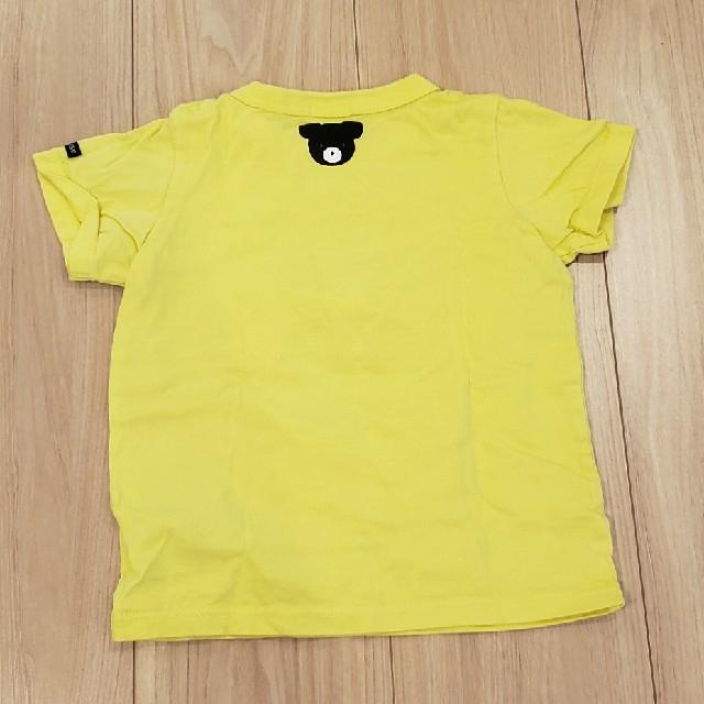 mikihouse(ミキハウス)のミキハウス 黄色 Tシャツ♡ キッズ/ベビー/マタニティのキッズ服男の子用(90cm~)(Tシャツ/カットソー)の商品写真