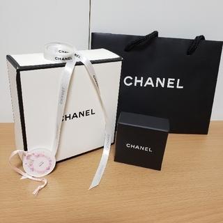 CHANEL - CHANEL  箱×2&ショップバック&リボン