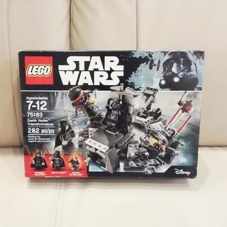 レゴ(Lego)のレゴ スターウォーズ ダースベイダーの誕生 75183(模型/プラモデル)