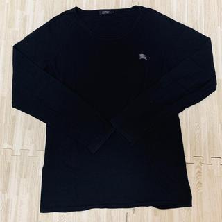 BURBERRY BLACK LABEL - バーバリー ブラックレーベル ロンT 黒