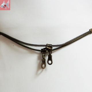 新品◆ジッパーの羽織紐アクセサリー(和装小物)