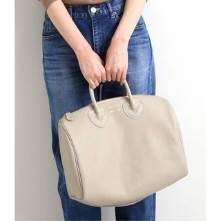 IENA - YOUNG&OLSEN EMBOSSED LEATHER ボストンバッグ