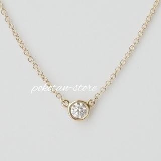 Tiffany & Co. - 新品同様【ティファニー】K18YG×ダイヤモンド バイザヤード ネックレス