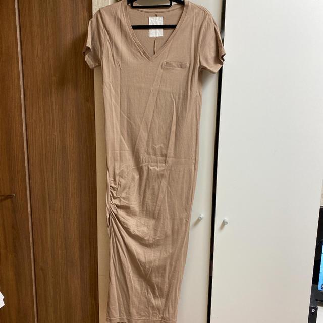 snidel(スナイデル)のherlipto tシャツワンピース レディースのワンピース(ロングワンピース/マキシワンピース)の商品写真